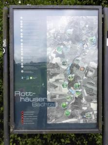 Infotafel am Rotthäuser Bachtal