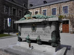 Mahnmal für die im ersten und im zweiten Weltkrieg verstorbenen Kinder aus Malmedy