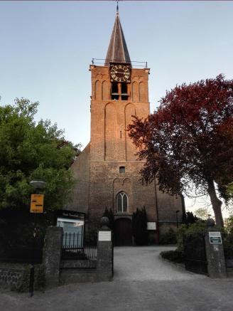 """Die """"alde Kerk"""" in Alblasserdam"""
