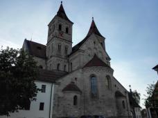 Rückansicht der Basilika