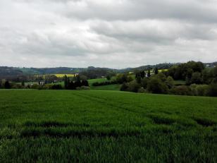 Blick nach Osten Richtung Velbert