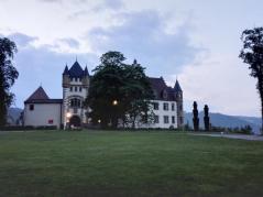 Frontseite der Götzenburg