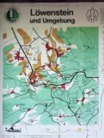 Umgebungskarte von Löwenstein