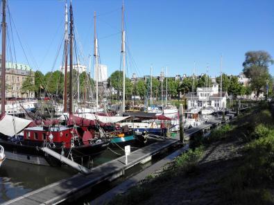 Blick in den alten Veerhaven