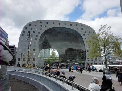 Die modern gestaltete Markthal