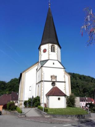 Die Dorfkirche in Berlichingen