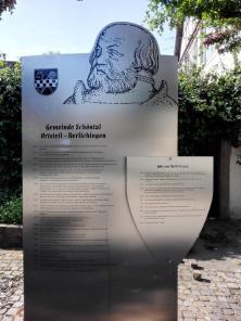 Infotafel zum Rittergeschlecht derer von Berlichingen