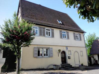 Haus am Kirchplatz in Berlichingen