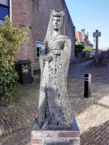 Skulptur am Hafentor
