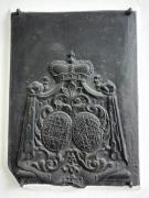Altes Wappen an einem Seitenflügel des Schlosses