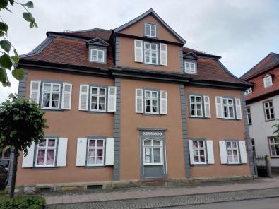 Häuser auf der Schlossstraße
