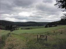 Unterwegs im hügeligen Waldecker Land