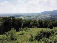 Aussicht vom Roßkopf nach Süden