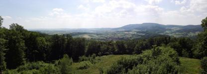 Panoramabild vom Roßkopf