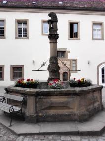 Detailansicht des Brunnens