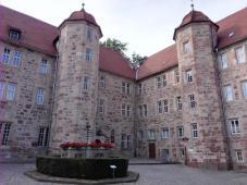 Innenhof der Burg