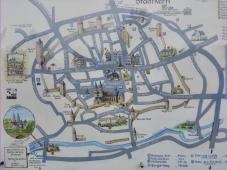 Plan der historischen Altstadt