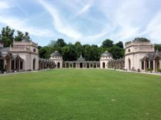 Innenhof im Türkischen Garten