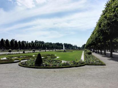 Dieser Schlosspark ist eine Pracht