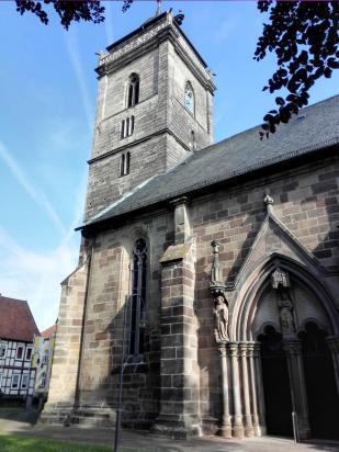 Die Pfarrkirche von Volkmarsen
