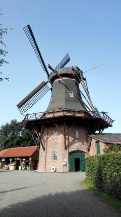Die Mühle in Haxtum