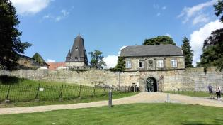 Zugang zur Burg