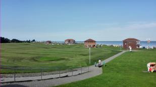 Der offizielle Strand von Horumersiel - Zugang nur mit Standkarte