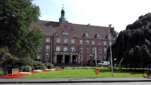 Das Rathaus von Nordhorn