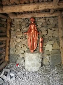 Marienfigur am Stolleneingang