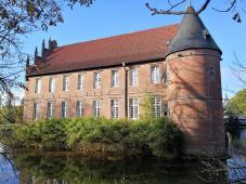 Der Ostflügel des Schlosses