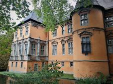 Renaissance-Fassade des Schlosses