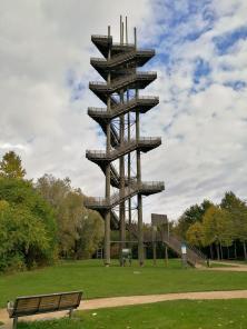 Der Weißtannenturm mit einer Höhe von 44 Metern