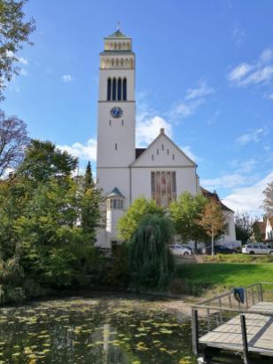 Die katholische St.-Nepomukkirche