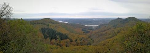 Panoramablick von der Walter Guillaume-Hütte