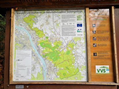 Wanderwege im Siebengebirge