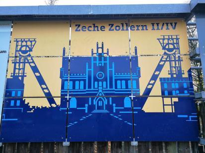Wir starten am Industriemuseum Zeche Zollern II/IV