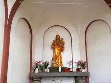 Blick ins Innere der Kapelle