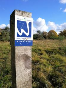 Wanderschild im Nationalpark