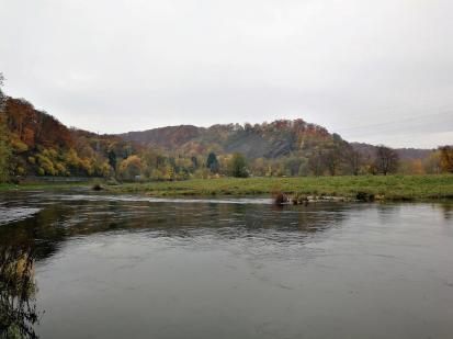 Die Hügelkette der Winzermark