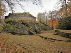 Freilichttheater unterhalb der Burgruine