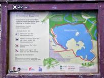 Wir erreichen den Barmener Baggersee