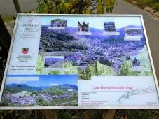 Infotafel am Rotweinwanderweg