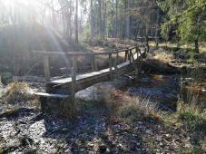 Nur selten gibt es Brücken
