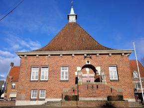 Das Rathaus von Arcen