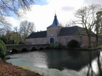 Zugang zum Schloss Arcen