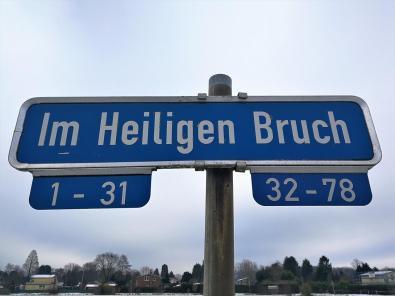 Na, das ist doch mal ein klangvoller Straßenname