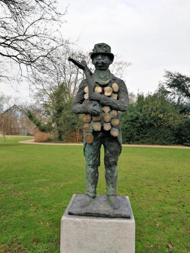 Figur im Stadtpark von Kerkrade