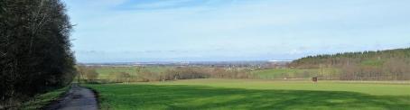 Panoramablick hinunter nach Euskirchen