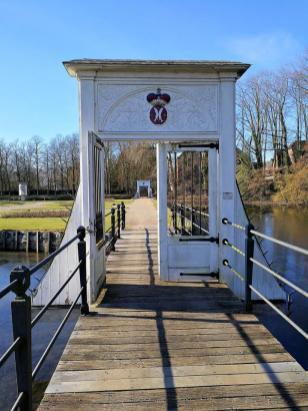 Tor zum Wassergarten