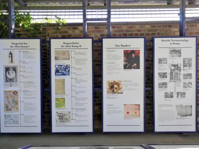 Infotafel zur Baugeschichte des Klosters
